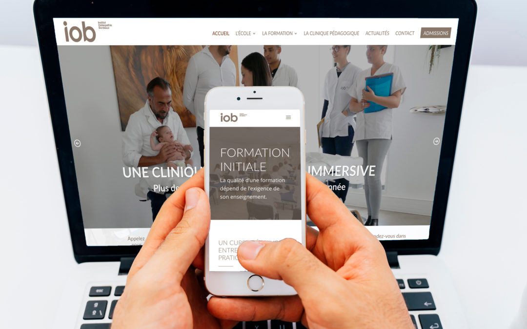 IOB presents its new website