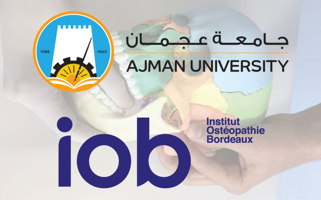 IOB will teach cranio-mandibular osteopathy at Ajman University