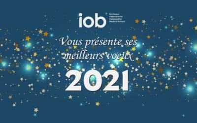 L'IOB vous présente ses meilleurs voeux !